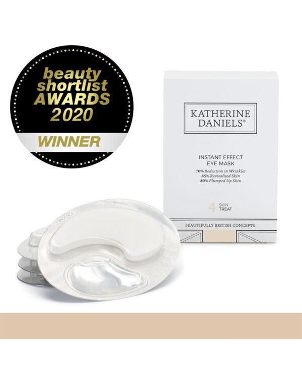 Katherine Daniels Instant Effect Eye mask Beauty Shortlist Awards 2020 WINNER