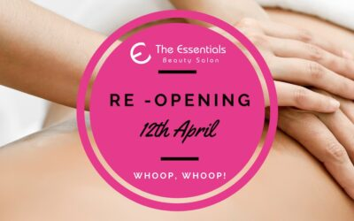 We are Re-opening on the 12th April!!